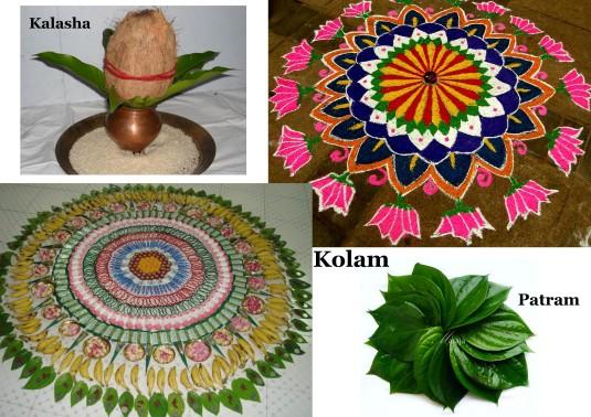kolamkalashapatram hindu ritual